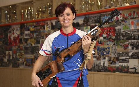 Jana vyhrála mnoho závodů v biatlonu.