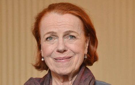 Iva Janžurová (76) nechala přemluvit a v jedné z reklam si zahrála.