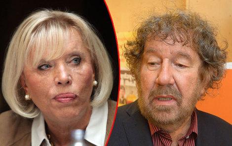 Marie Poledňáková a Zdeněk Troška mají odlišný humor.