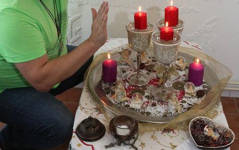 Kartář Láďa nám popsal, jak probíhá obřad splněných přání.