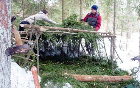 V ruské soutěži jde i o přežití v mrazivé divočině.