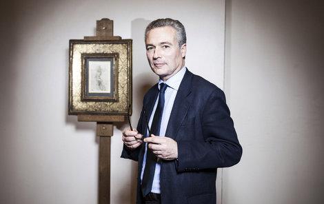 Thaddée Prate nechal obraz zarámovat.