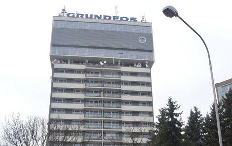 Výšková budova je současně olomouckým vodojemem.
