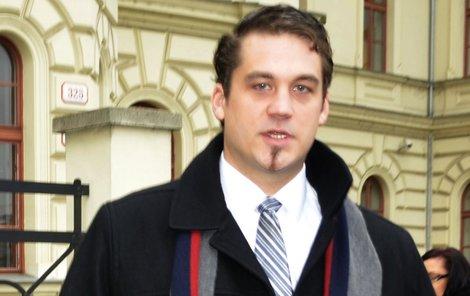 Soud poslal do vězení bývalého hokejistu Matěje Trojovského.