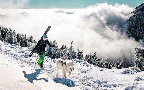 Pokud si letos chcete udělat bílé Vánoce, vyrazte na hory. Tak to nyní vypadá například v Krkonoších.