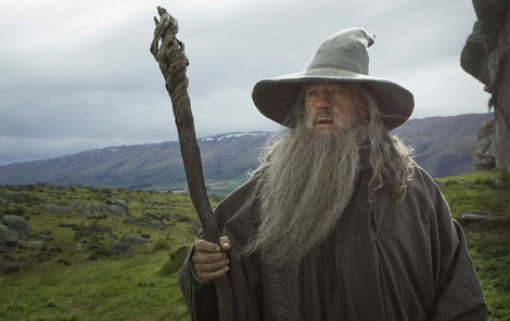 Gandalf v podání Iana McKellena.