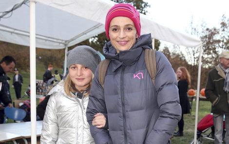 S milovanou dcerou Sofií.