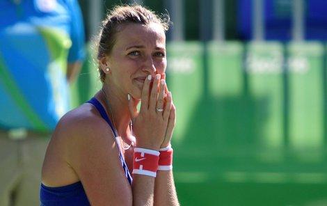 Na tenis nyní může Petra Kvitová zapomenout, ale vrátit na kurty se chce co nejdříve.