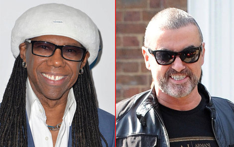 Nile Rodgers a George Michael.