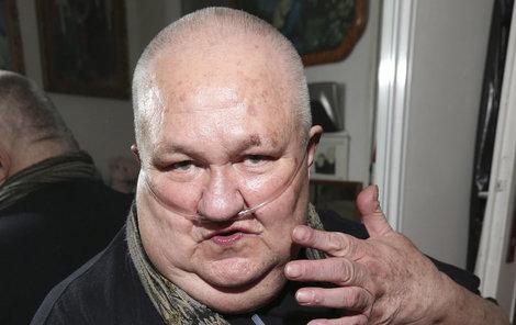 Václav Glazar čeká na operaci.