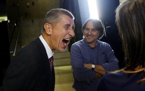 Ministr Babiš má z výsledku radost.