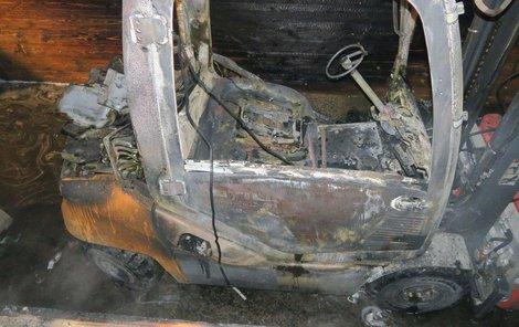Kvůli výbuchu tlakové lahve skončili dva hasiči v nemocnici.