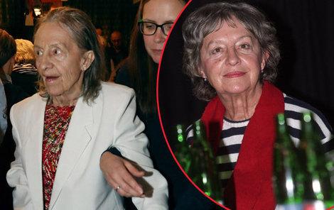 Nina Divíšková v roce 2008 a nyní. Rozdíl je obrovský.