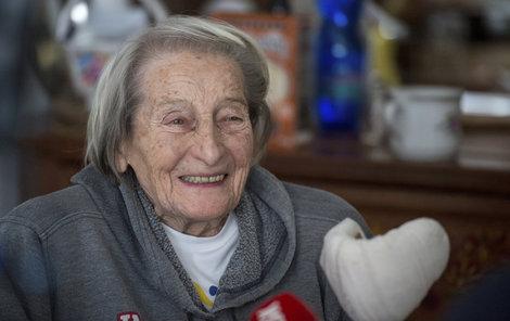 Zátopková slaví 95: Překvapivá slova o stáří