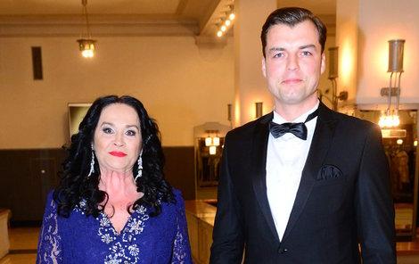 Hana Gregorová a Ondra Koptík vyrazili na Česko-Slovenský ples.