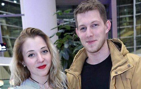 Anna Slováčková s přítelem Filipem.