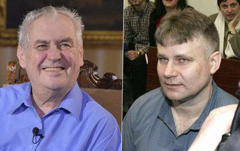 Zeman vážně uvažuje o udělení milosti Jiřímu Kajínkovi