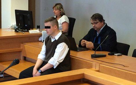 Lukáš Š. se u soudu kolegovi neomluvil.