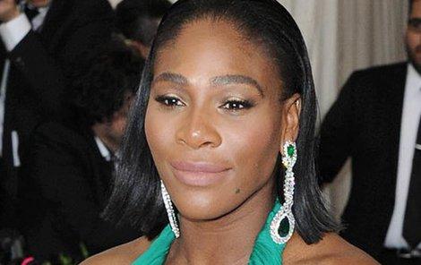 Serena Williams stále trénuje!