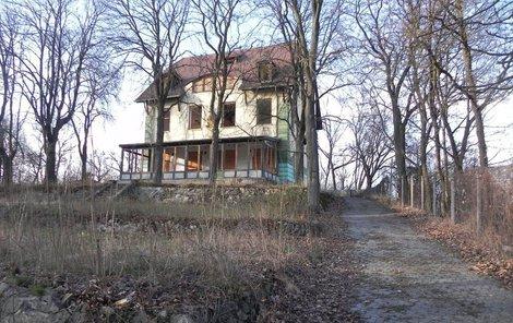 Takto vypadala vila dříve.