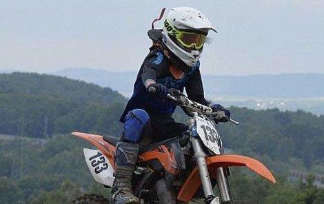 Smrt mladého motokrosaře (†13) v Lokti:  Zabil ho dvojskok!
