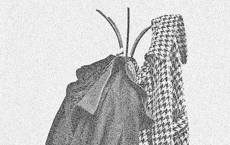 Zloděj bral kabáty a klobouky, pak je prodával.