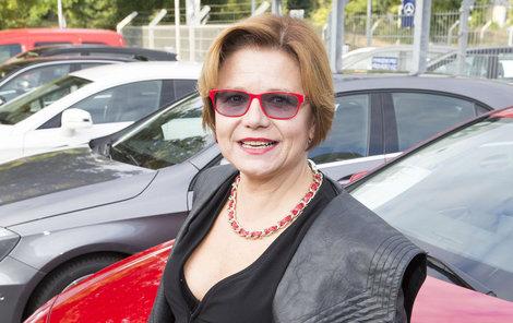 Ivana Andrlová téměř zmizela z televizních obrazovek.