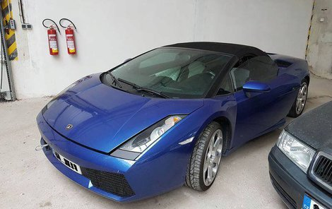 Lamborghini Gallardo Spyder Vyvolávací cena: 1 252 500 Kč