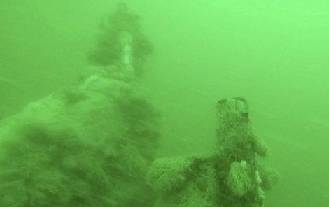 Nález pod hladinou moře u Ostende