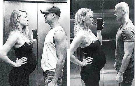 2016 Hotelový výtah v Barceloně, čtvrtý měsíc, první dítě... 2017 Hotelový výtah v Barceloně, čtvrtý měsíc, druhé dítě...