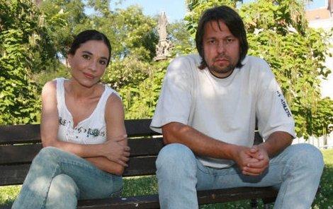 Míša Kuklová a Jirka Pomeje