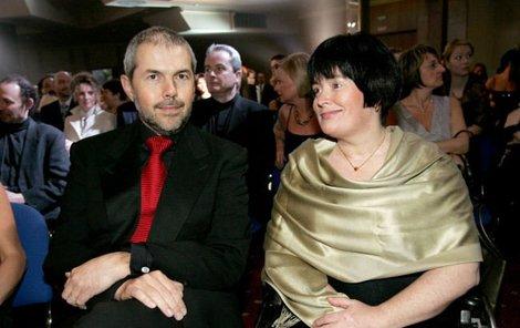 Marek Eben a jeho žena Markéta.