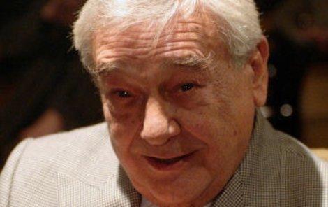 Velký herec, ale i člověk Josef Vinklář už hraje v hereckém nebi.