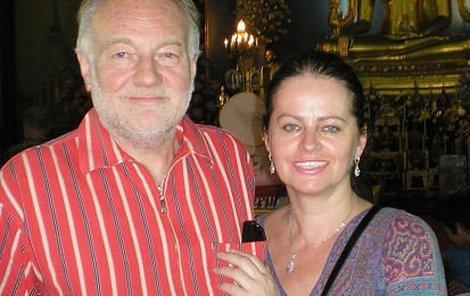 Luděk Sobota s manželkou Adrianou. Jaké dávají rady do začátku vztahu?