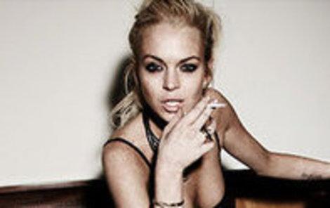 Lindsay Lohan je evidentně nad věcí.