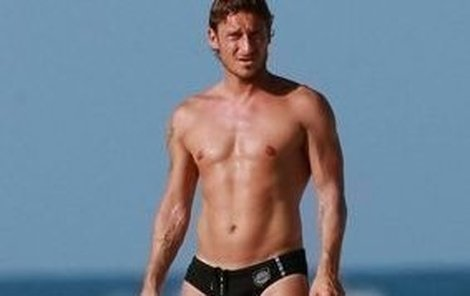 Francesco Totti je fešák
