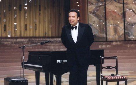 Vladimír Menšík moderoval nezapomenutelné Silvestry.