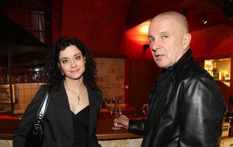 Ondřej Soukup a jeho milenka Lucia Šoralová.