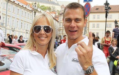 Zuzana Belohorcová a Vlasta Hájek