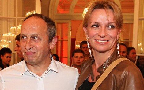 Ivana Chýlková a Jan Kraus se ubytovali každý v jiném hotelu.