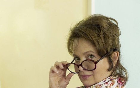 Libuše Šafránková jako učitelka