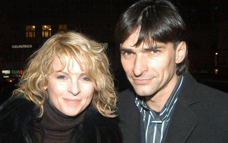 Zdeněk Podhůrský s Ivetou