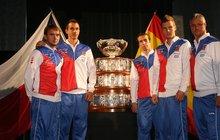 Finále Davis Cupu je tady: Mise »MÍSA«!