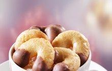 Dia vánoční cukroví: Kokosové rohlíčky