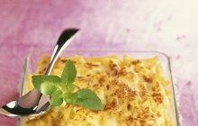 Italská kuchyně: Zapékané makarony se smetanovo-sýrovou omáčkou podle Ireny Ďaďové