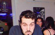 Vašek Noid Bárta: Opil se a řádil jako zvíře! FOTO
