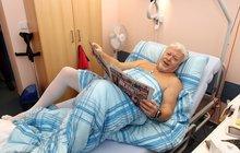 Milan Drobný o operaci kyčle: Slyšel jsem rány a vrtání!