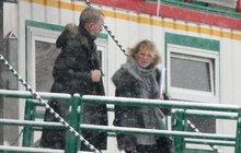 Helena Vondráčková: Tajná schůzka ve sněhové vánici!