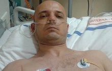 Vážně nemocný otec pěti dětí: Žijeme z 41 Kč na den, manželku (†28) zabila rakovina!