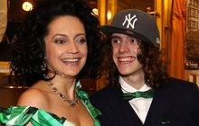 Syn Lucie Bílé Filip: S mámou bych spolupracovat nechtěl!